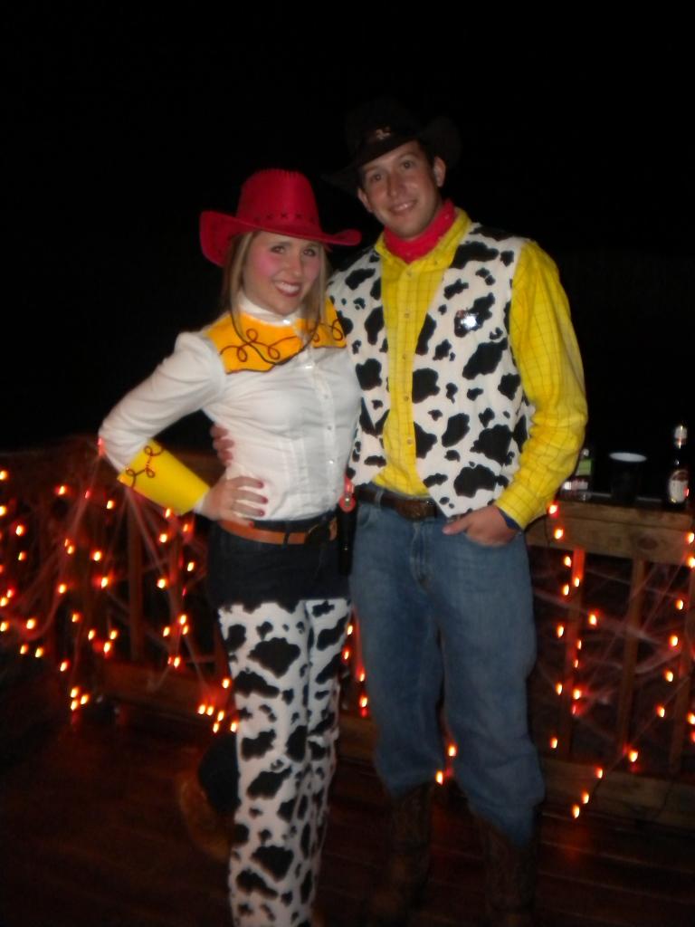 Woody And Jessie Costumes Happy Halloween! - Pea...